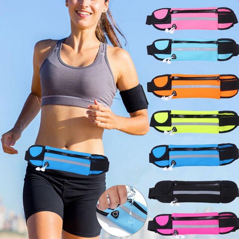Men Women Waist Bag Portable Key Money Phone Pouch Belt Fanny Packs For Women Travel Bag Unisex Waist Pack Sport Running Bag