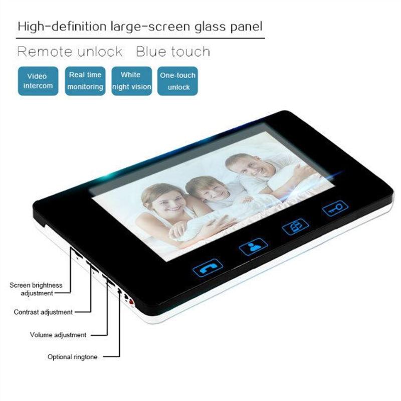 wired fingerprint video doorphone3
