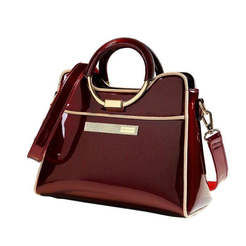 dfa6961b14ce Новая роскошная дизайнерская сумка высокого качества женская кожаная сумка  на плечо невесты Свадебная сумка женская сумка из Бостона сумк.