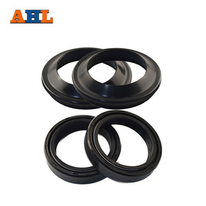 AHL Motorcycle Front Fork Damper 35x48x11 Oil Seal & Dust Seal For Honda CB450 CB750 CB550 CL450(China)