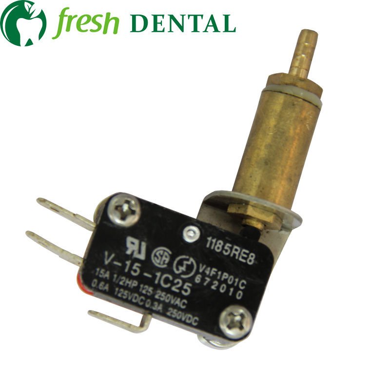 10PCS zobu gaisa elektriskais slēdzis Ultrasonic Scaler Micro slēdzis zobārstniecības iekārtām zobu krēslu aksesuāri slēdzis SL1246A
