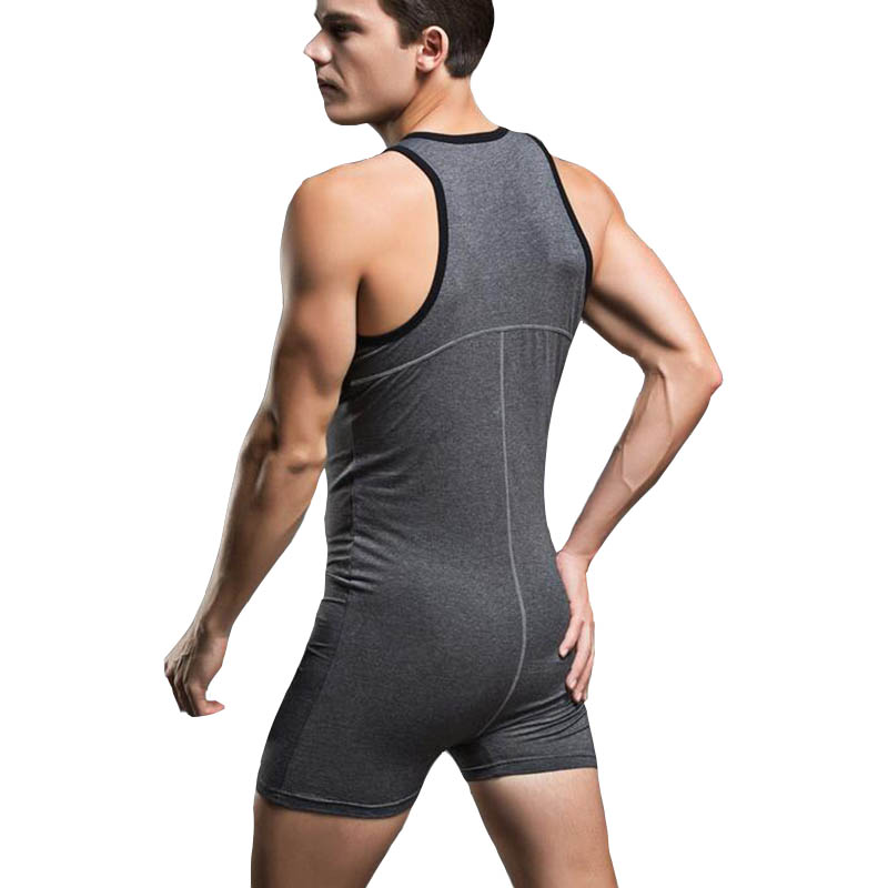 Slimming corset body shaper shapewear faja hombre cotton shirt bodysuit mens underwear camisa masculina body suits sleepwear 4