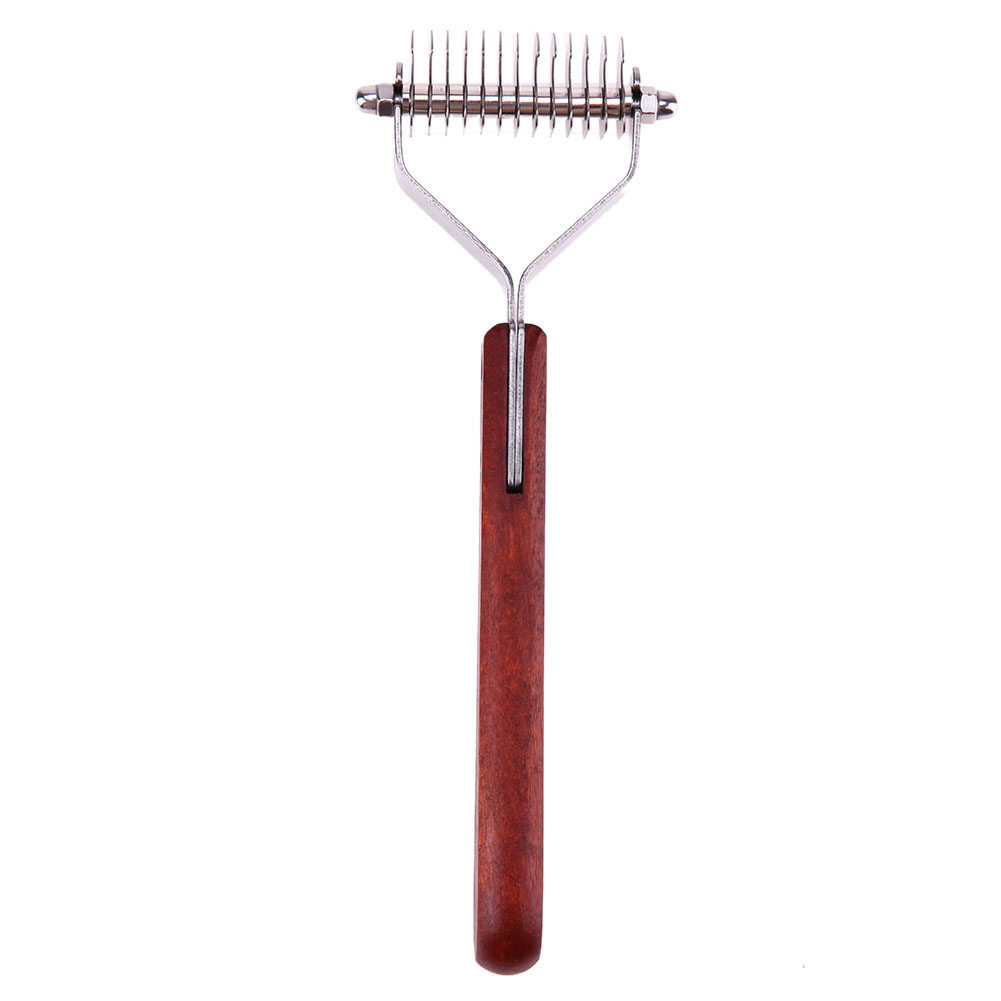Pet Dog Cat Hair Comb Grooming Tool Stripper Rake Brush Shedding Trimmer Gilling Brush Pet Dog Cat Hair Grooming Comb Brush 13