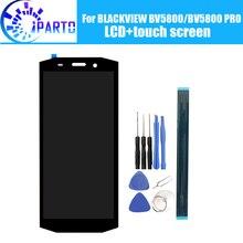 ЖК дисплей и сенсорный экран BLACKVIEW BV5800, 100% оригинальный протестированный ЖК дигитайзер, стеклянная панель для замены для BLACKVIEW BV5800 PRO