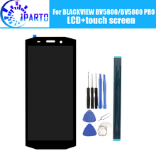 BLACKVIEW BV5800 LCD תצוגה + מסך מגע 100% מקורי נבדק LCD Digitizer זכוכית פנל החלפת BLACKVIEW BV5800 פרו