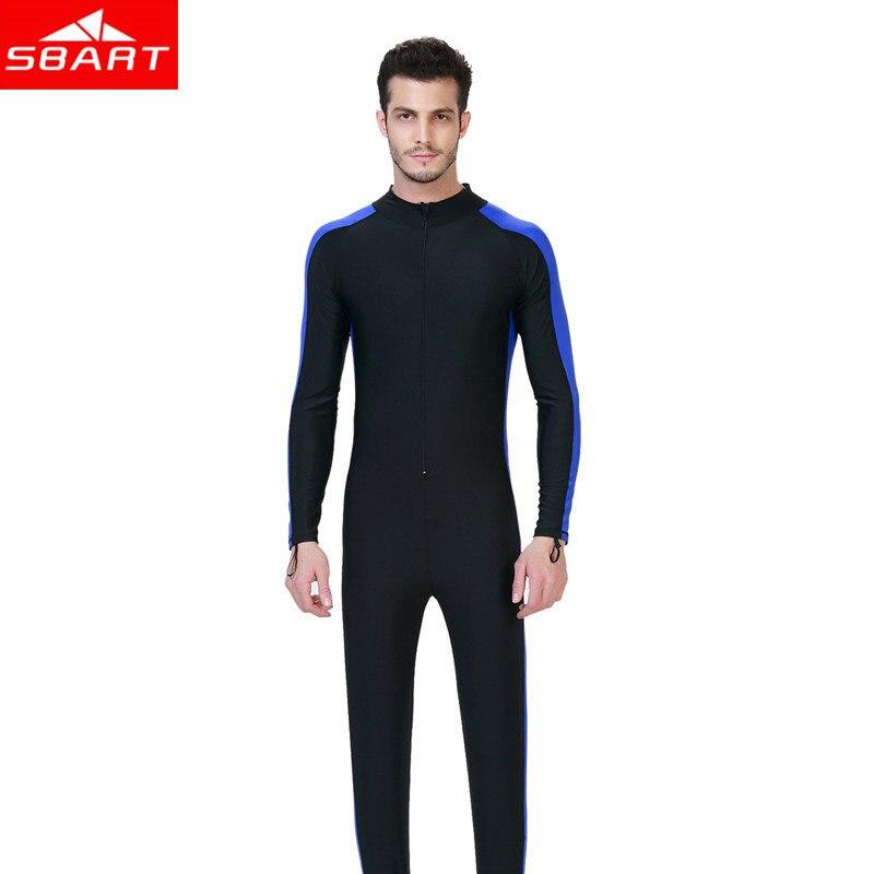 Men Long sleeves Scuba Snorkeling Wetsuit Summer Rash Guard Surfing Swimwear