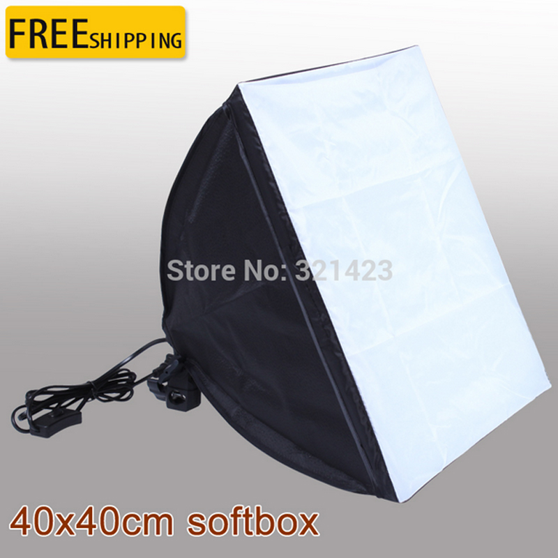 Free Tax To Russia 110-240v Photography 40*40cm Softbox E27 Lamp Holder For Studio Continuous Lighting not include Bulbs improved quality spring balancer for hanging wrench screwdriver tools not include the custom tax