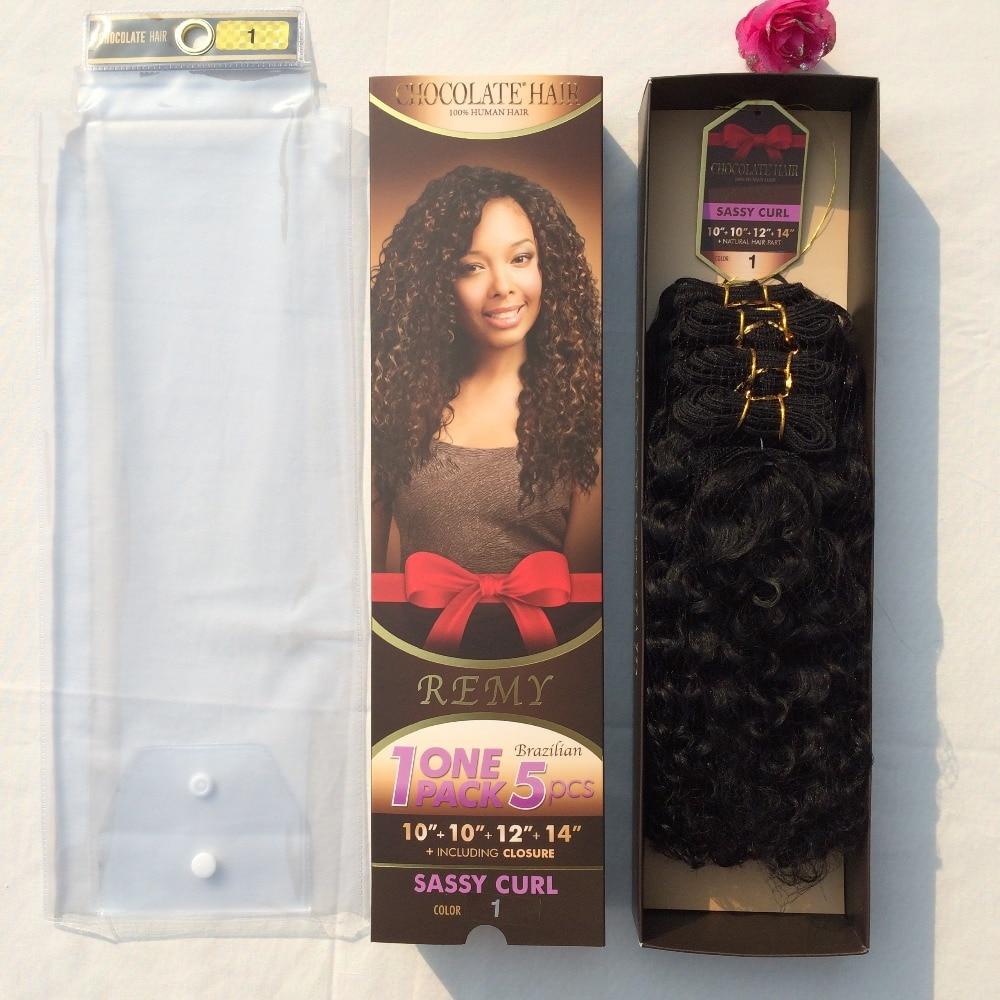 Evertress Chocolate Sassy Curl 1pack 5pcs 178g10101214