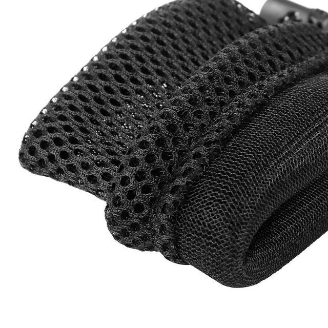 5pcs nylon mesh drawstring storage pouch bag 9x13cm multi purpose travel & outdoor activity