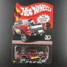 Hot Wheels 자동차 CHEVY BEL AIR GASSERCollectors Edition 50 주년 기념 금속 다이 캐스트 자동차 컬렉션 아동용 장난감 차량 선물용