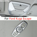 For Ford Kuga Escape 2013 2014 2015 2016 2017  Car Reading Lights Cover Sticker Internal Decoration Auto Accessories Car-styling