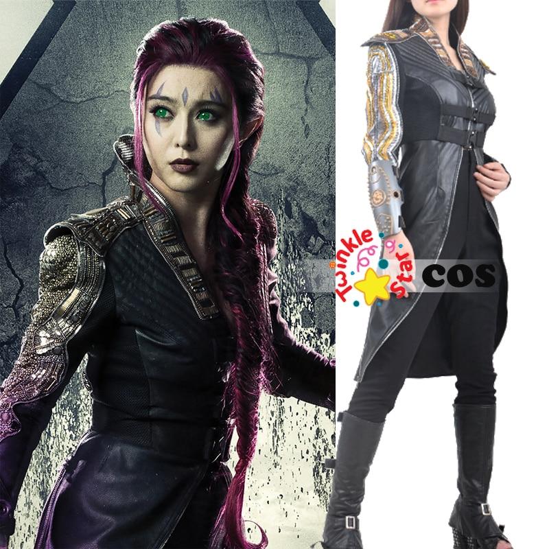halloween costumes for adult women Xmen adult cosplay costume Marvel blink Clarice Ferguson cosplay costumes