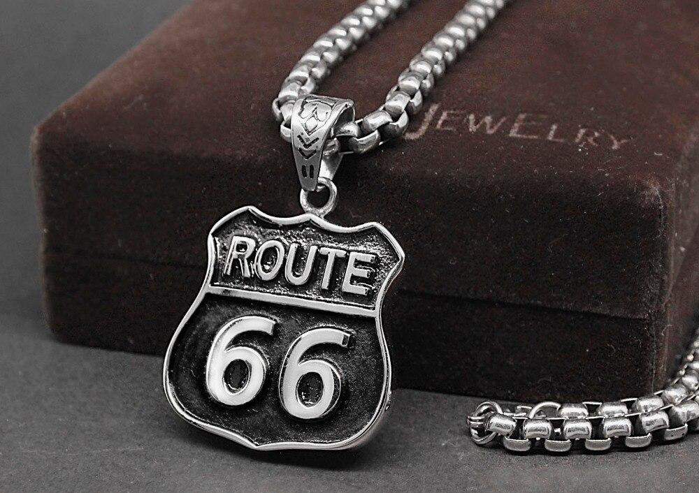 pendentif route 66