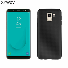 For Cover Samsung Galaxy J6 2018 Case Luxury Silicone Phone Back J600G