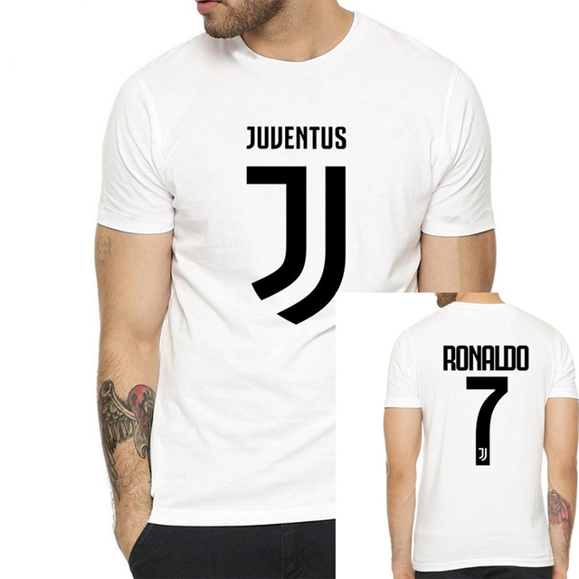 super popular 7f113 4d314 US $9.45 |New 2018 Men's Juventus Name Cristiano Ronaldo 7 T Shirt Women  Short Sleeve O Neck T Shirts for Juventus Fans Gift free shipping-in  T-Shirts ...