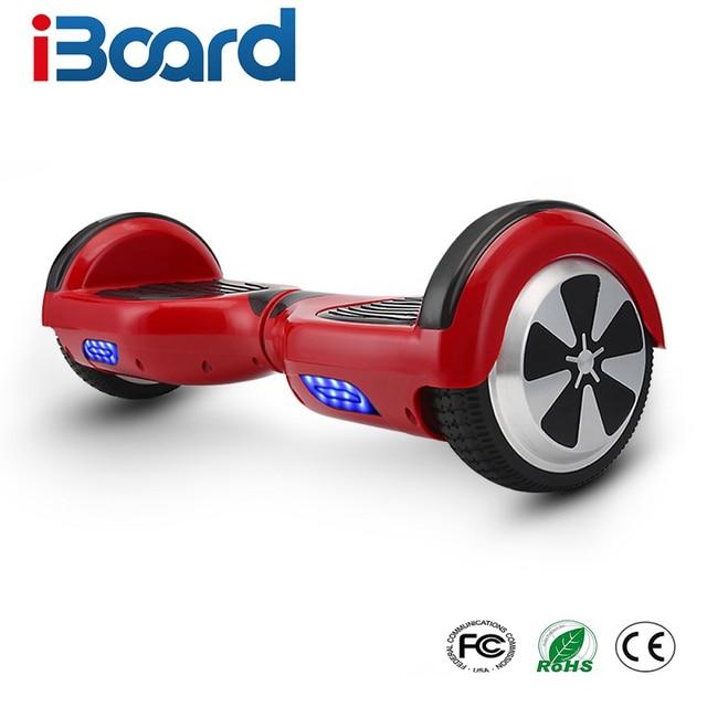 9 colores 6,5 pulgadas Hoverboard dos ruedas auto Balance Scooter Hover Board con bolsa de transporte UL certificado