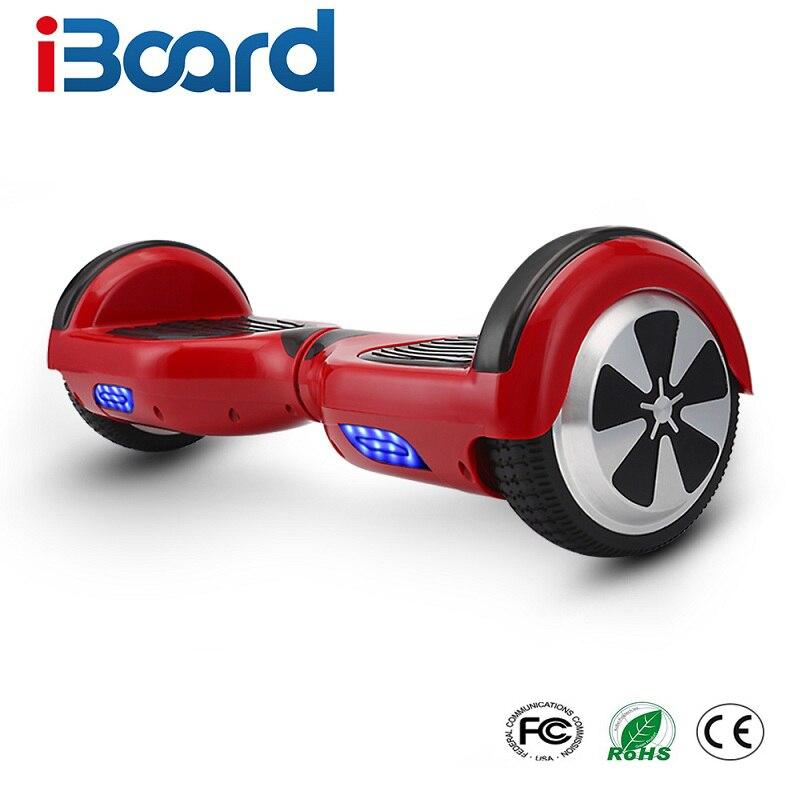 9 couleurs 6.5 pouce Hoverboard Deux Roues Auto Équilibre Scooter Hover Bord Avec Sac de Transport UL Certifié