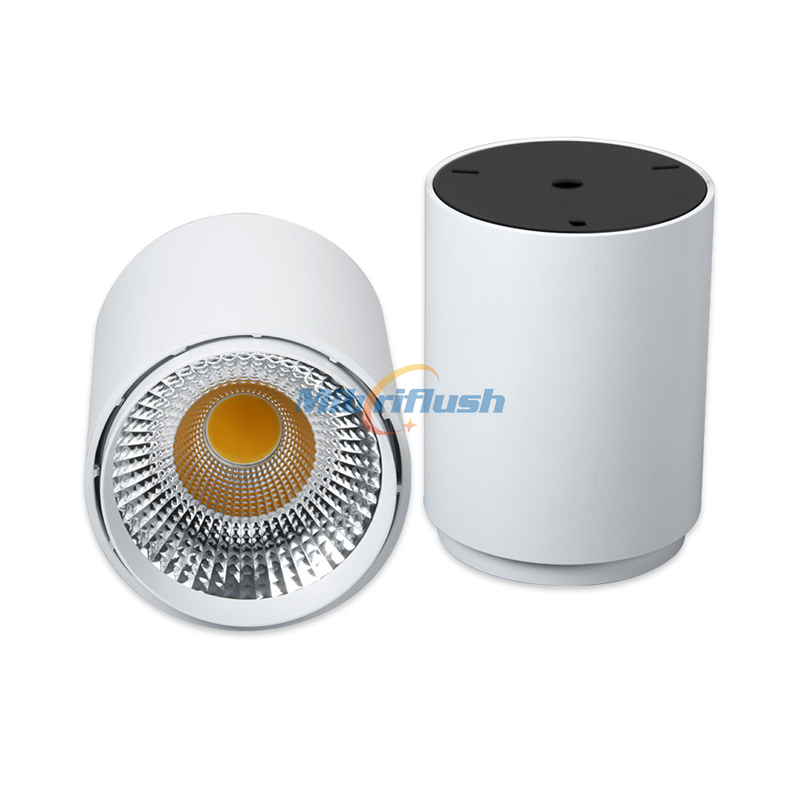 20w Led Surface Mounted: Super Bright CRI>80 130LM/W LED Downlight Surface Mounted
