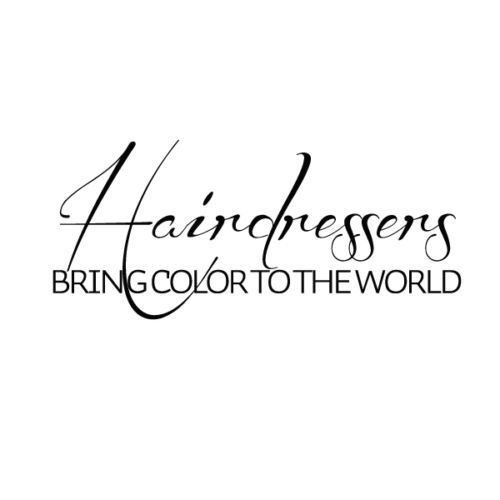 Buy salon hairdressers vinyl wall decal for Salon quotes about beauty