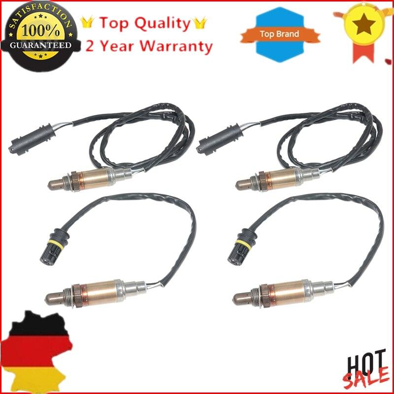 Sensores de Oxigênio O2 AP03 Parte Dianteira & Parte Traseira Para BMW E60 E61 520i 525i 530i E46 320i 323i 328i 330i M52 B20 E38 X3 X5 Z3 Z4 sonda lambda