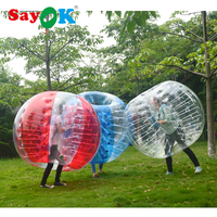 1.5m Inflatable Bubble Soccer 0.7mm TPU Air Bumper Ball Body Zorb Ball Bubble Football Bubble Soccer Ball For Sale