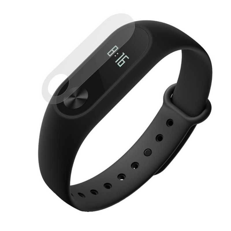 HD пленка против царапин протектор экрана для Xiaomi Miband 2 умный ремень браслет