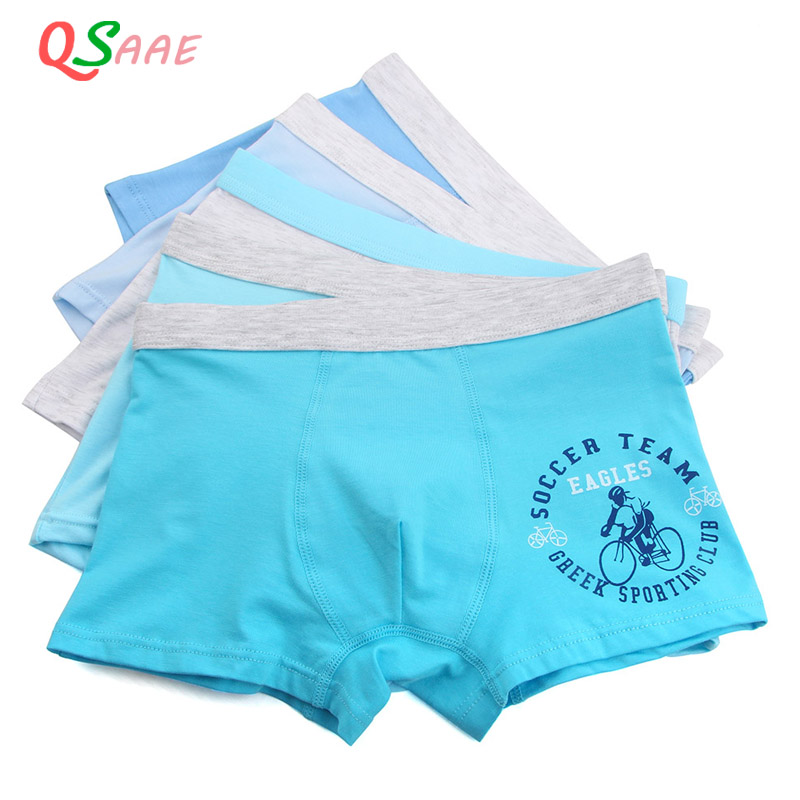5pcs/lot Cartoon plus size 2XL-7XL modal Cotton Children Underwear Kids Shorts Boys Boxers Panties Teenager Underpants недорго, оригинальная цена