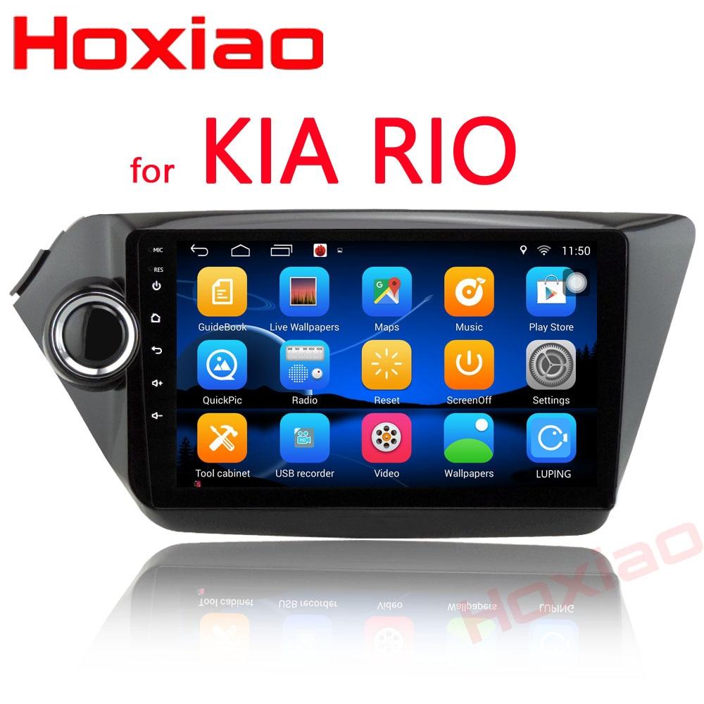 Car Android GPS DVD Player For KIA RIO K2 2010 2011 2012 2013 2014 2015  9″ 2 din car radio Video Player 2Din Navigation