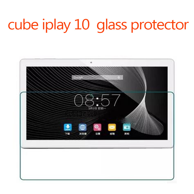 In Stock Tempered Glass Films Screen Protector for cube iplay 10 10.6inch Tempered Glass Film new 9h glass tempered for huawei mediapad t5 10 tempered glass screen film for huawei mediapad t5 10 inch tablet screen film