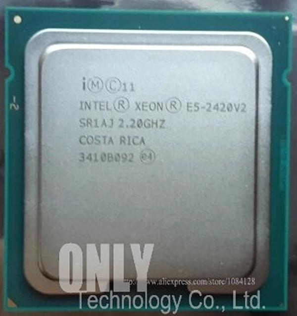 E5-2420 V2 Original Intel Xeon E5-2420V2 2.20GHz 6-Core 15MB LGA1356 E5 2420 V2 80W Free Shipping