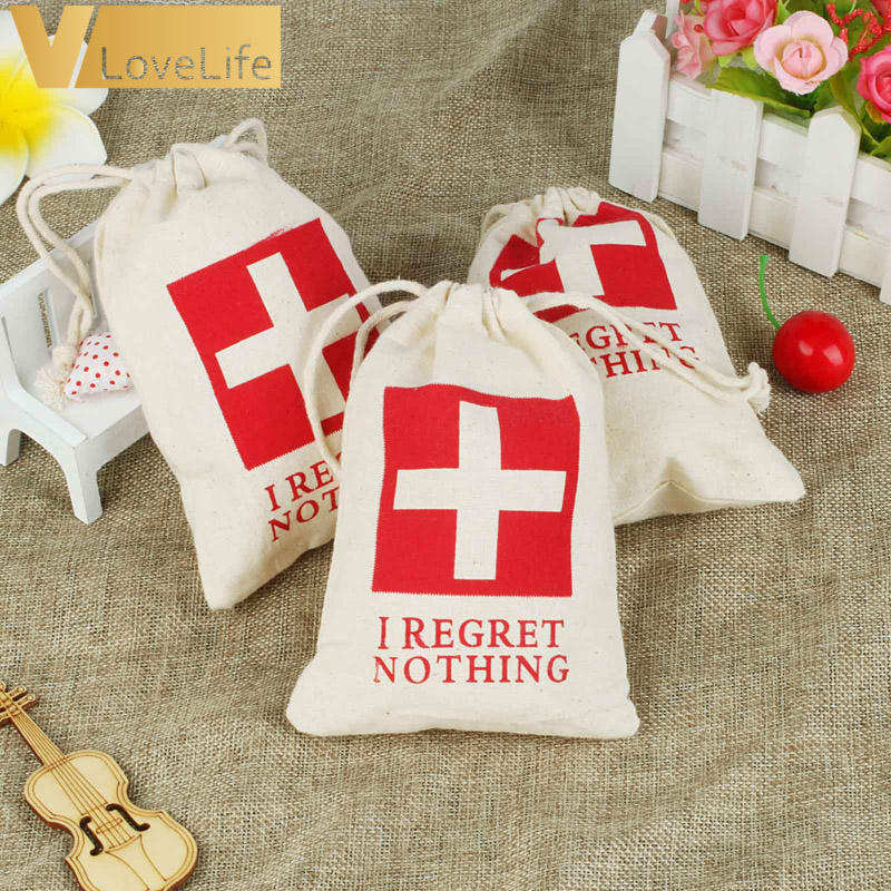 10pcs Wedding Hangover Kit Bags 4
