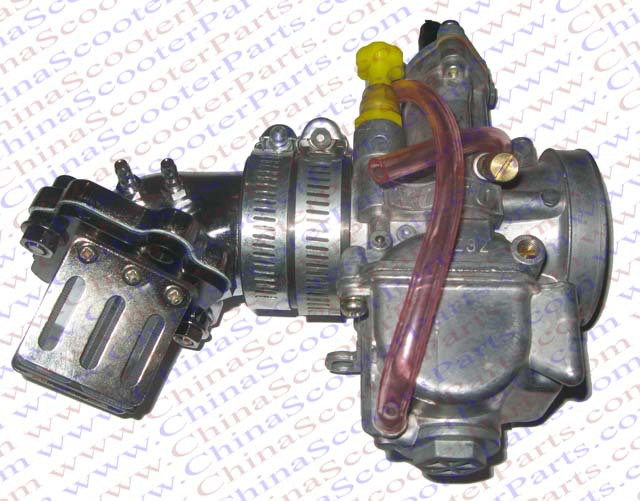 Performance Koso 28MM carburetor + Alu Intake Manifold + Reed Jog 90 100 kazuma ATV Scooter Buggy 19mm carburetor for eton beamer aprilia sr50 jog zuma minarelli jog 50 90 50cc 90cc pz19j sr50 scooter atv buggy
