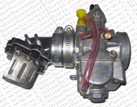 Performance Koso 28MM carburetor + Alu Intake Manifold + Reed Jog 90 100 kazuma ATV Scooter Buggy