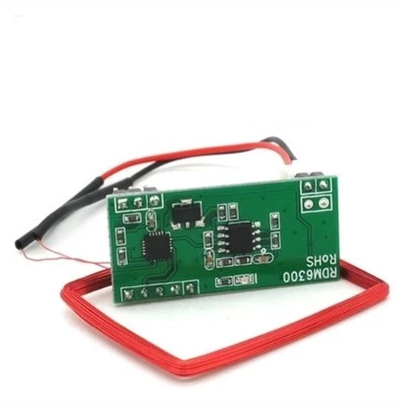 100% New RFID 125kHz ID card reader Embedded module Circuit Modules UART Interface