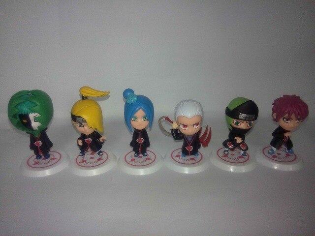 8cm Naruto 11Pcs Action Figures Characters Set