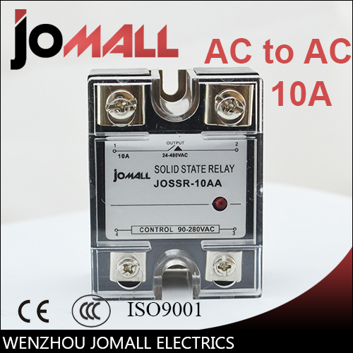④SSR -10AA AC control AC SSR Single phase Solid state relay - a593