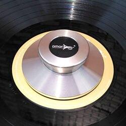 TC-02 akustyka winylowa płyta długogrająca gramofony metalowy zacisk stabilizator płyty rekord srebrny