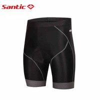 Santic calções de ciclismo acolchoado calções de bicicleta calções ciclismo pantalon cuissard velo bermudas S-3XL m5c05060h
