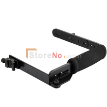 Flash Bracket Grip Camera Flash Arm Holder stand 635 shade bracket For DSLR camera free shipping(China)