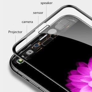 Image 4 - 40D Incurvé Bord Doux Verre Protecteur Pour iPhone 7 6 6S 8 Plus X Trempé Protecteur Décran Pour iPhone X XR XS Max 7 6 Film de Verre