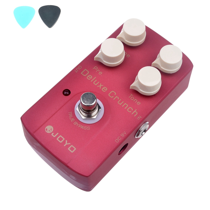 все цены на  JOYO JF-39 Deluxe Crunch Effects Guitar Pedal True Bypass JF39 Pedals Guitar Accessories Mini Size  онлайн