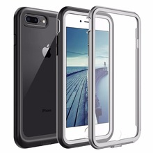 For iphone 7/8 Plus case Shock Dirt Snow Proof Protection With Touch ID for iPhone 7 8 4.7 inch Phone Case Cover Clear