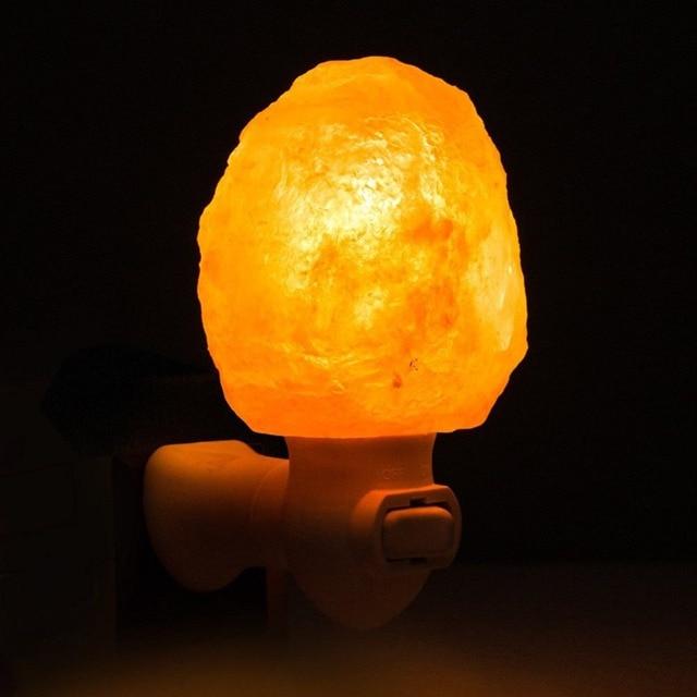 US $31.69 |Hause Mini Dekorative Wandleuchte Himalaya Licht Salz Kristall  Lampe Für Schlafzimmer Partei Liefert in Hause Mini Dekorative Wandleuchte  ...