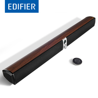 EDIFIER S50DB Bluetooth Soundbar Speaker Wood Finish Digital Amplifiers With DSP Technology Remote Control 88W Power