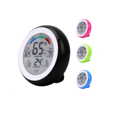 купить Indoor Outdoor LCD Digital Thermometer Hygrometer Pyrometer & Digital Temperature Humidity Meter Controller as Weather Station по цене 368.93 рублей