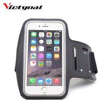 VICTGOAL corriendo brazalete bolsa de bicicleta Running Bag Sport brazo banda cinturón de la cubierta corriendo GYM bolsa para el iPhone más Xiaomi samsung