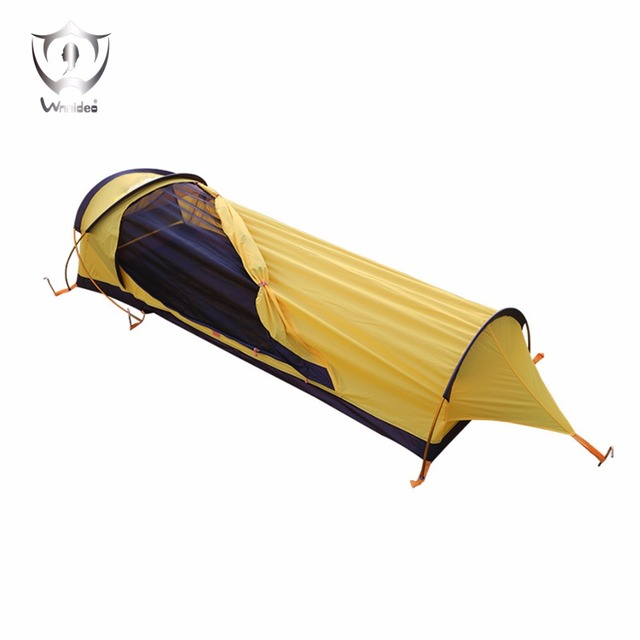 Ultralight 1-Person Waterproof Personal Tent Fast Easy Setup barraca de acampamento ZF7-0503