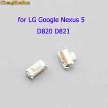 ChengHaoRan 2-5 pcs for LG Google Nexus 5 D820 D821 Power Button On Off Switch micro switch faceplate bezel front housing mid chasis frame for lg google nexus 5 d820 d821 cover with adhesive