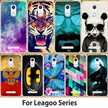Anunob Case For Leagoo M8 Pro M9 Cover S8 Pro T5 M5 Plus M7 T1 T5 Shark1 Kiicaa Mix Kiicaa Power Bag Tiger Flower Butterfly(China)
