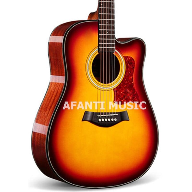 41 inch  Fade color Acoustic guitar of Afanti Music (AAL-1032) piatnik набор настольных игр xl 200 piatnik